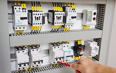thermographic testing of switchgear