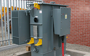 power transformer installation